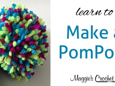 How to make a Pom Pom with Maggie Weldon