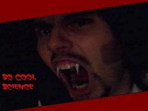 !!!HOW TO MAKE VAMPIRE FANGS AT HOME!!!