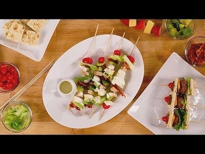 How to Serve Your Entire Meal on a Stick | Party Skewer Recipes | POPSUGAR Cookbook