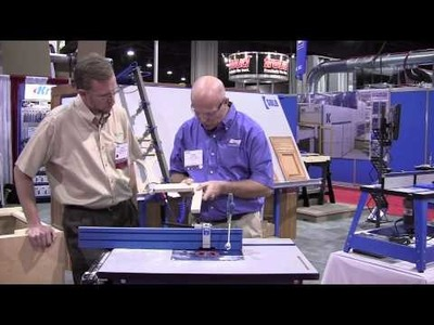 Kreg Tools Beaded Face Frame System - International Woodworking Fair 2010