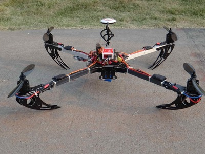 New OFM Jumper 600 Low Cost and Powerful DIY FPV Quadcopter