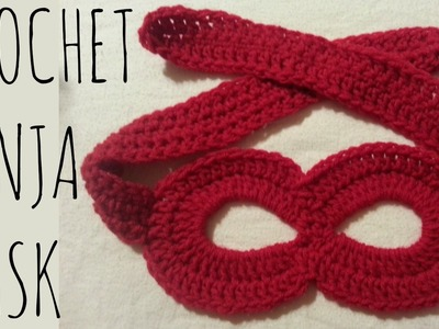 Ninja.Superhero Mask | Crochet Pattern | Costume Creation Tutorial