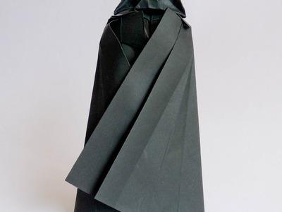 Origami Darth Vader tutorial