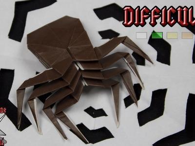[ORIGAMI TUTORIAL] Spider || Halloween.Animals.Easy