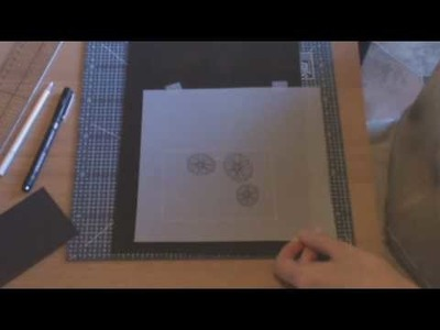 Parchment Craft beginners lesson 1 part 1 of 4