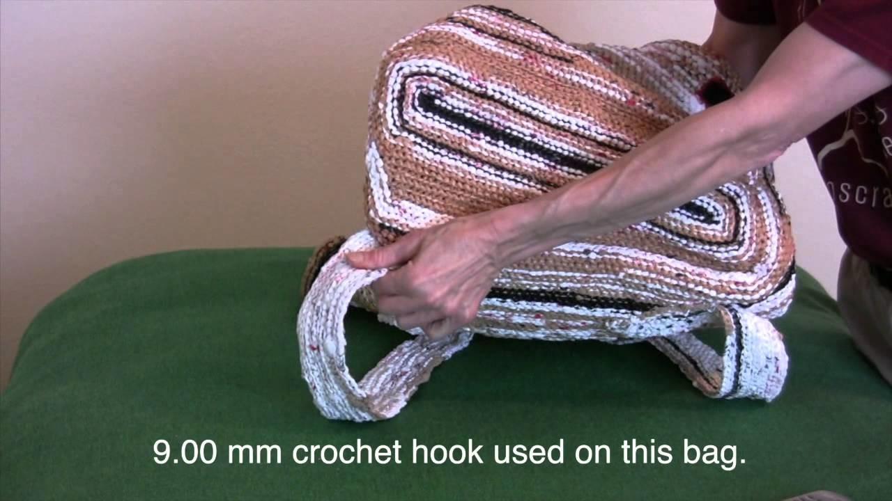 Plastic Bag Crocheted Art