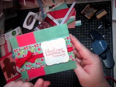 Scrapbooking Project Share - Christmas cards
