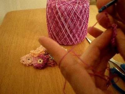 Tutorial: Crocheted Flowers (Part 2)