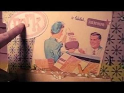 Vintage Recipe Scrapbook