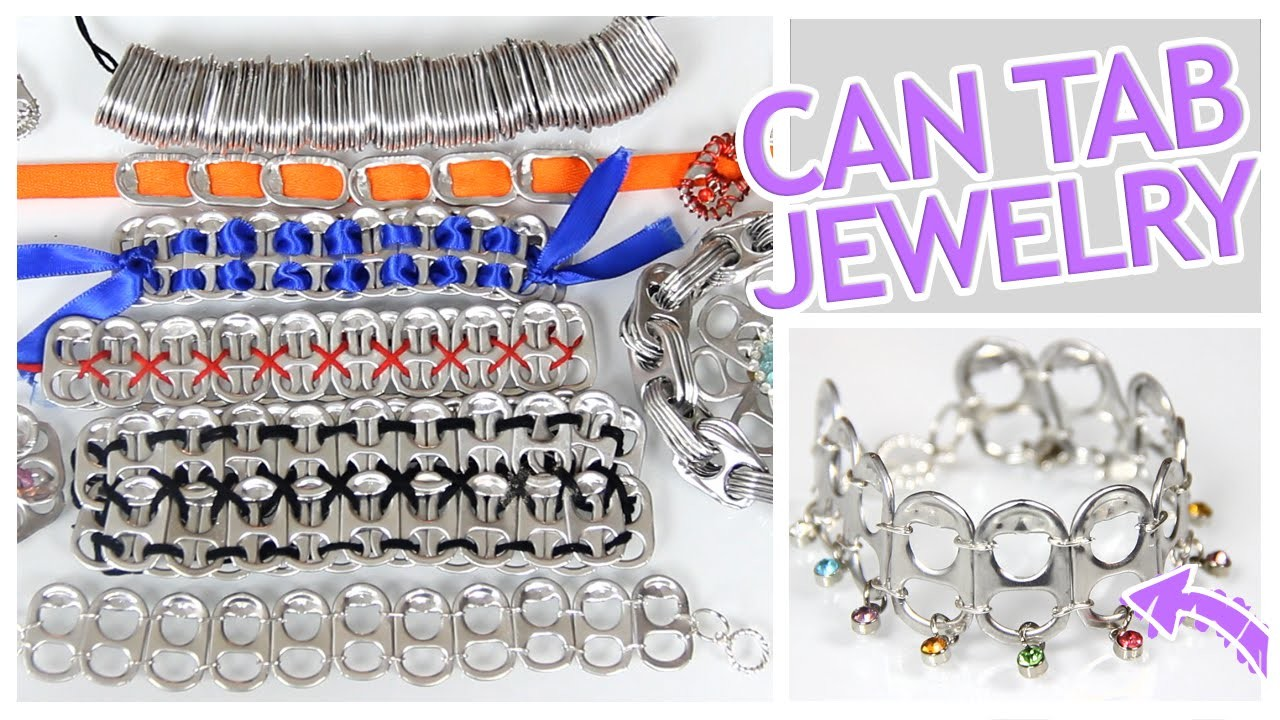 10 Amazing Jewelry Crafts Using Soda Can Tabs - Do It, Gurl