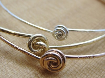 Bead Snack Video: Rosebud Bangle at The Bead Gallery, Honolulu