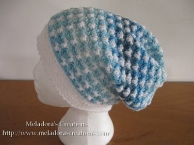 Birds of a Feather Slouch Hat Pt 1 - Left Handed Crochet Tutorial