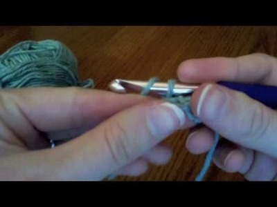 Crochet - How to Make a Crochet Chain Stitch