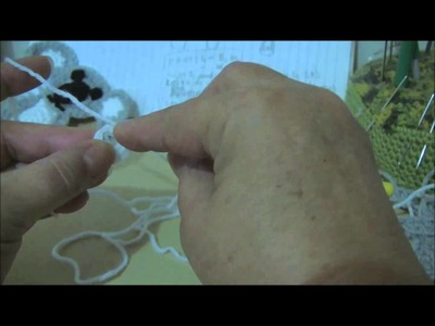 Crochet Koala Applique Part 1.4
