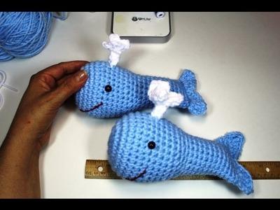 #crochet whale ami - (Subtitulos en Espanol)