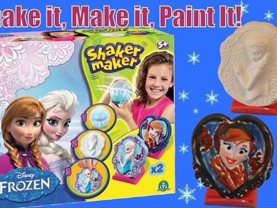 Disney Frozen Shaker Maker from Movie Frozen - Paint your own Queen Elsa Princess Anna Sculptor
