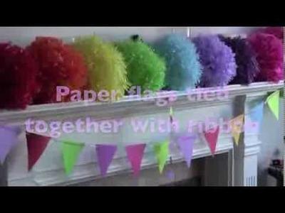 DIY Birthday Party Decorating
