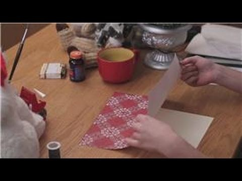 DIY Christmas Cards : How to Make a Xmas Santa Card