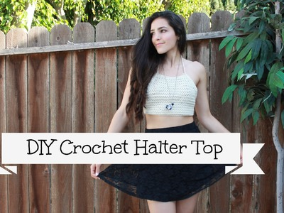 DIY Crochet Halter Top