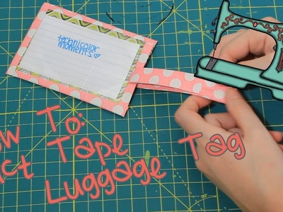 DIY Duct Tape Luggage Tag | Pre-Vidcon Crafts