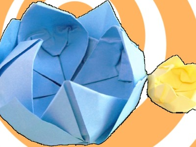 DIY: Origami Water Lily Instructions