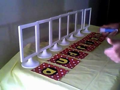 DIY Party Decor (Kendra)