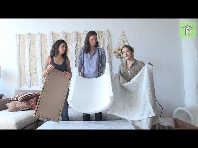 DIY Reupholstering with Grace Bonney