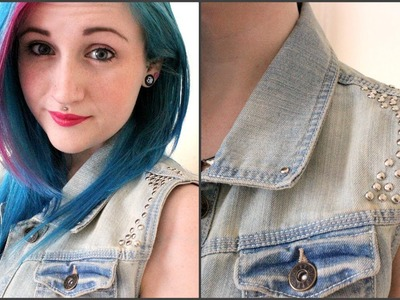 DIY Studded Jacket Tutorial