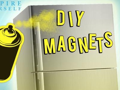 DIY: Stylish Fridge Magnets