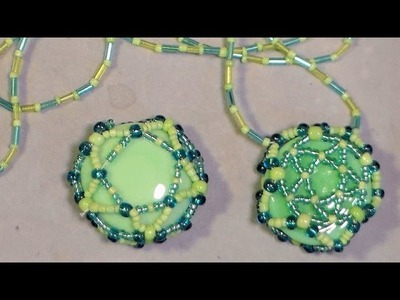 Easy beaded bezel tutorial