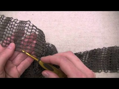 Greer Scarf - Crochet Version
