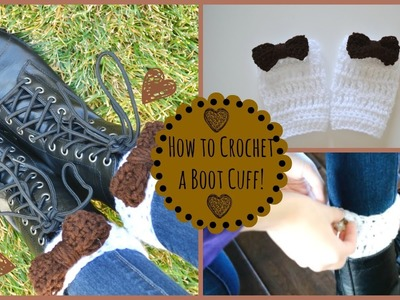 How to Crochet Adorable Boot Cuffs! | Ms. Craft Nerd