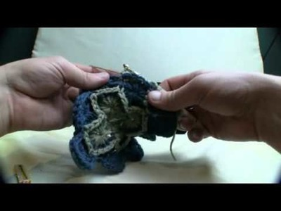 How To Crochet Catherine Wheel Throw 4