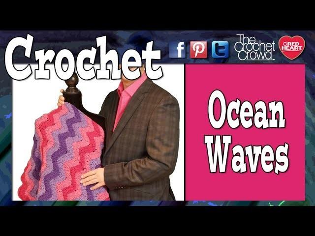 How To Crochet Ocean Waves Afghan