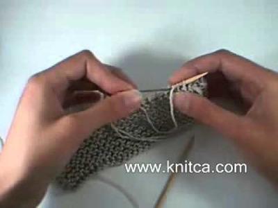 How to make an elastic edge using sewn bind off