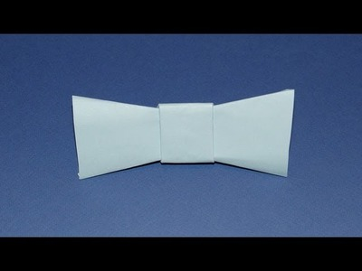 How To Make An Origami Bow Tie
