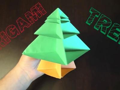 How to Make an Origami Christmas Tree (Modular)