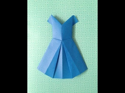 How to make an Origami Occasion dress!!