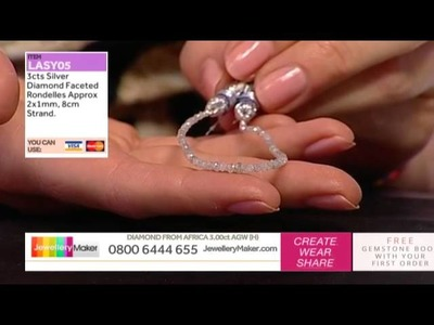 How to Make Boutique Quality Beaded Jewellery: JewelleryMaker LIVE 24.05.2015