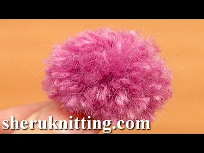 How to Make Mini Pompoms Tutorial 12 Method 4 of 8 Using Pompom Makers