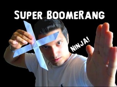 How to Make the Super Boomerang! - Rob's World