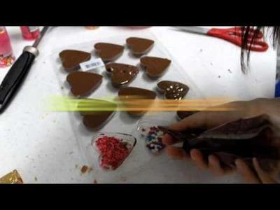 How to Make Valentines Chocolates