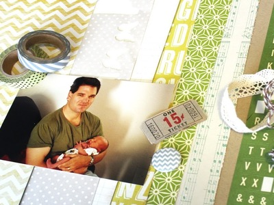 How To :: Planning a Scrapbook Page