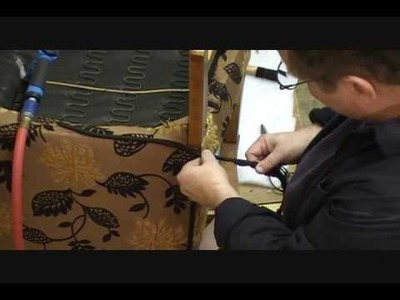 How to Upholster  a Chair Chapter  12