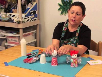 Kitchen Angel Craft : Christmas Crafts