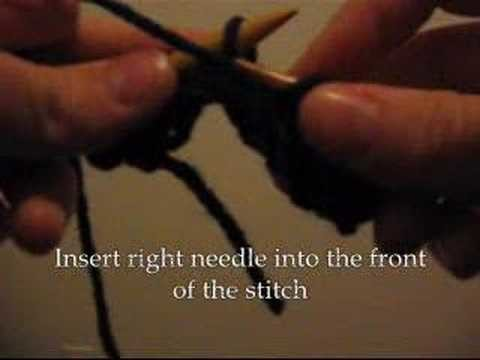 Learn How to Knit Part 3