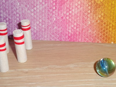 LPS Crafts - How to Make a LPS Bowling Ball and Pins