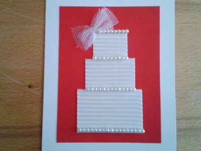 Make a Beautiful Wedding Greeting Card - DIY Crafts - Guidecentral