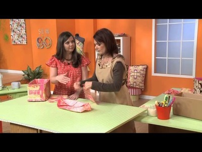 Make a Storage Bin Out of Fabric & Cardboard Boxes