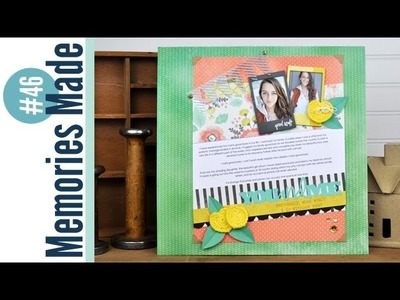 Memories Made #46 Scrapbooking Process Video: You and Me
